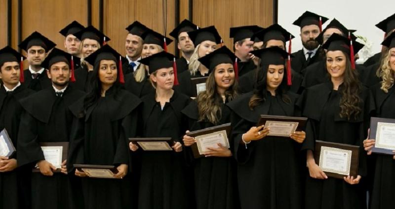 Graduation ceremony for class of 2021